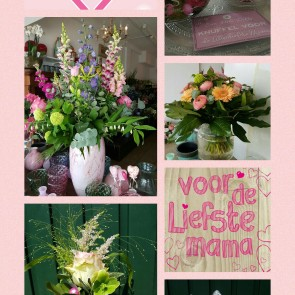 moederdag collage